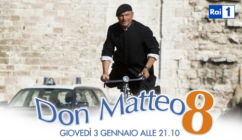 Don Matteo 8: Anticipazioni puntata dell'8 gennaio 2013