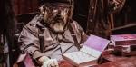 George R. R. Martin in versione zombie