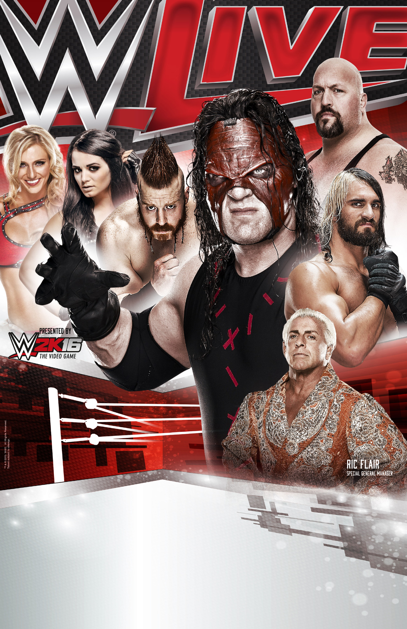 Poster WWE_Live event Italy_vert