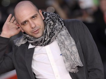 Italian actor Checco Zalone poses on the Red Carpet before the meeting with the press and the public during the 8th annual Rome Film Festival, in Rome, Italy, 14 November 2013. ANSA/CLAUDIO ONORATI